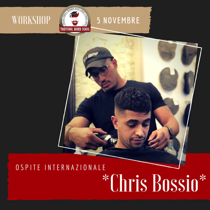 Locandina del workshop con Chris Bossio